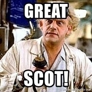 Doc Back to the future - Great Scot!