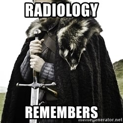 Ned Stark - Radiology Remembers