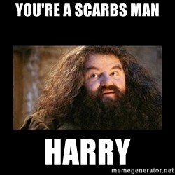 You're a Wizard Harry - yOU'RE A sCARBS man Harry