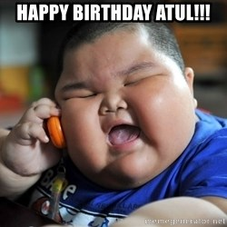 Fat Asian Kid - happy birthday atul!!!