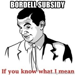 Mr.Bean - If you know what I mean - Bordell subsidy