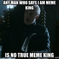 Tywin Lannister - Any man who says i am meme king Is no true meme king
