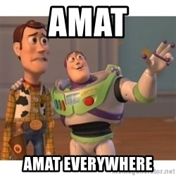 Toy story - AMAT AMAT EVERYWHERE