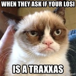 Grumpy Cat 2 - when they ask if your losi is a traxxas