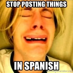 Leave Brittney Alone - Stop posting things In spanish