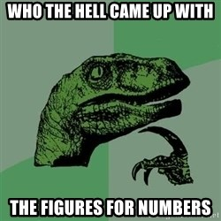 Raptor - Who the hell came up with The figuRes for numbers