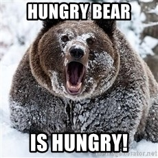 Cocaine Bear - hungry beAR IS HUNGRY!