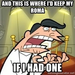 Timmy turner's dad IF I HAD ONE! - AND THIS IS WHERE I'D KEEP MY rOMA IF I HAD ONE