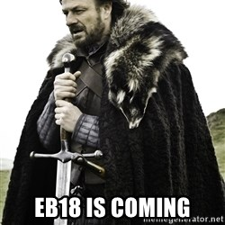 Ned Stark - EB18 is coming