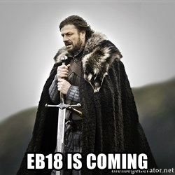ned stark as the doctor - Eb18 is coming