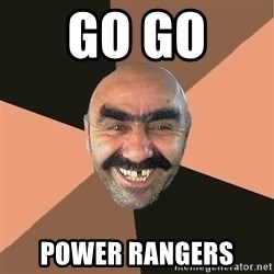 Provincial Man - Go go  Power Rangers