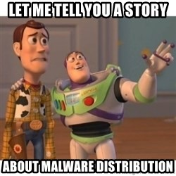 Toy story - let me tell you a story about malware distribution