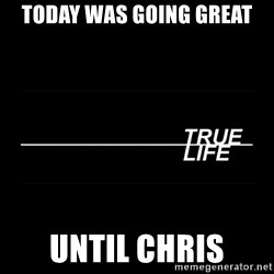 MTV True Life - Today was going great Until chris