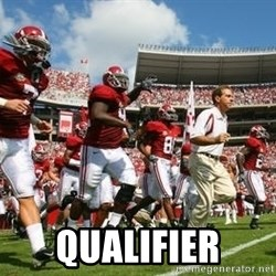 Alabama Football - qualifier