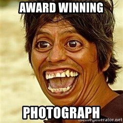 Crazy funny - award winning photograph