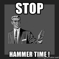 kill yourself guy blank - STOP  HAMMER TIME !