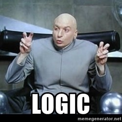 dr. evil quotation marks - logic