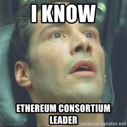 i know kung fu - I KNOW ETHEREUM CONSORTIUM LEADER