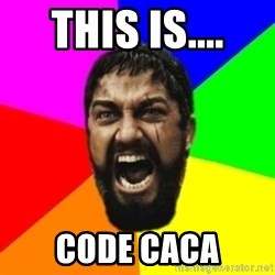 sparta - this is.... code caca