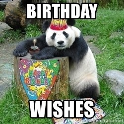 Happy Birthday Panda - Birthday  Wishes