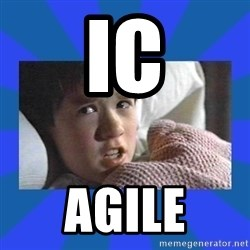 i see dead people - IC AGILE