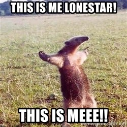 Anteater - This is me Lonestar! This is meee!!
