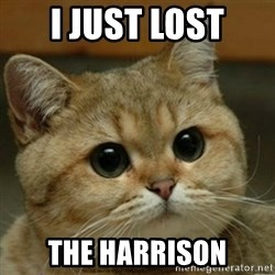 Do you think this is a motherfucking game? - i just lost the harrison