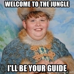 welcome to the internet i'll be your guide - Welcome to the jungle I'll be your guide