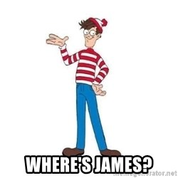Where's Waldo - Where's James?