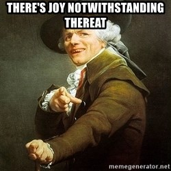 Ducreux - There's joy notwithstanding thereat