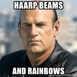 Jesse Ventura - HAARP Beams And rainbows