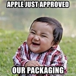 Niño Malvado - Evil Toddler - Apple just approved our packaging