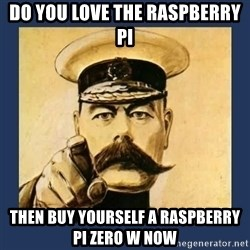 your country needs you - Do you love the raspberry pi  then buy yourself a raspberry pi zero w now