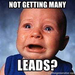 Crying Baby - Not getting many Leads?