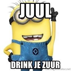 Despicable Me Minion - Juul drink je zuur
