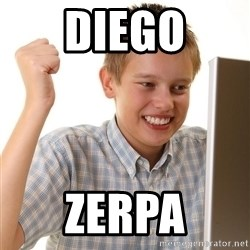 First Day on the internet kid - diego zerpa
