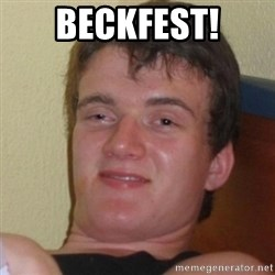 Really Stoned Guy - beckfest!