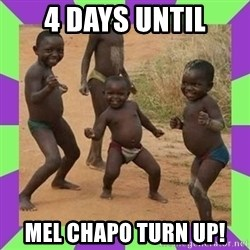 african kids dancing - 4 days until Mel chapo turn up!