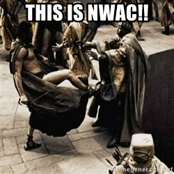 sparta kick - This is NWAC!!