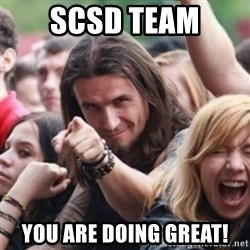 Ridiculously Photogenic Metalhead - scsd team you are doing great!