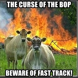 Evil Cows - the curse of the bop beware of fast track!