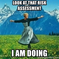 Look at All the Fucks I Give - Look at that Risk assessment I am doing