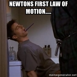 Bored sleeping Joey - Newtons first law of motion.....