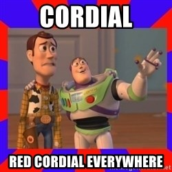 Everywhere - cordial red cordial everywhere