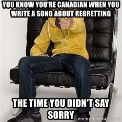 Justin Bieber Pointing - you Know yoU're Canadian when You write a SonG about regretting The time you didn't say sorry