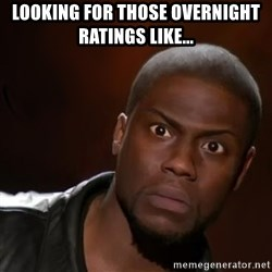 kevin hart nigga - Looking for those overnight ratings like...
