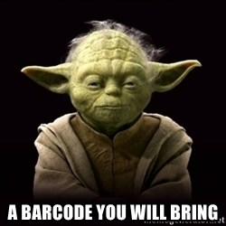 ProYodaAdvice - A barcode you will bring