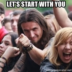 Ridiculously Photogenic Metalhead - let's start with you