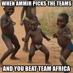 Dancing african boy - When AmmiR pIcks the teAms And you beat team africa