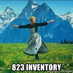 Look at all the things - 823 inventory
